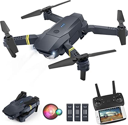 Trajectory Flight and Gravity Control ORRENTE Drone with Camera for Adults Drone Training with Shot Switching One Key Take Off//Landing WiFi FPV Drone with 1080P HD Camera for Beginners