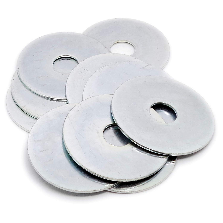 12/mm x 50/mm OD /acero Pack de 10 M12/ Oversized guardabarros arandelas/