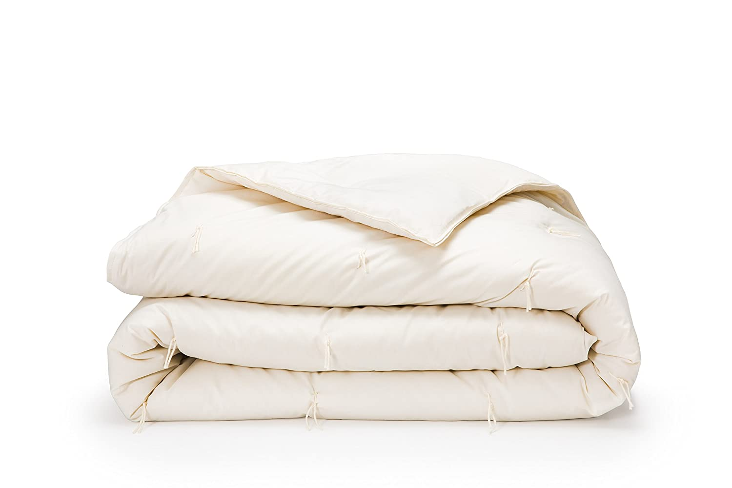 "100% All Natural, Made In The U.S.A. - King Wool Filled Comforter -108""x90"" -Natural"
