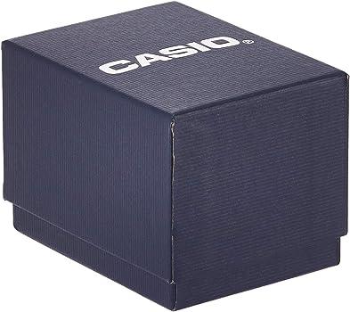 Casio EDIFICE Reloj en caja sólida, 10 BAR, Negro, para Hombre, con Correa de Acero inoxidable, EF-129D-1AVEF: Casio: Amazon.es: Relojes