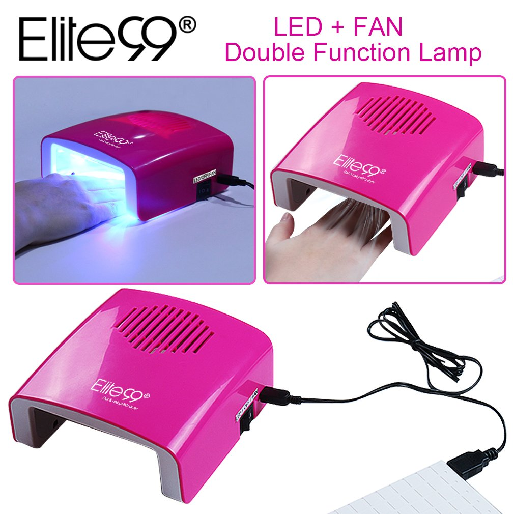 Elite99 5.5W Professional Dual-function Nail Dryer LED Nail Lamp ...