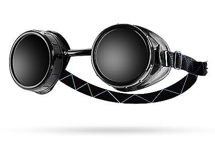 Ram-Pro - Gafas de seguridad para soldadura (lente doble #5, lentes