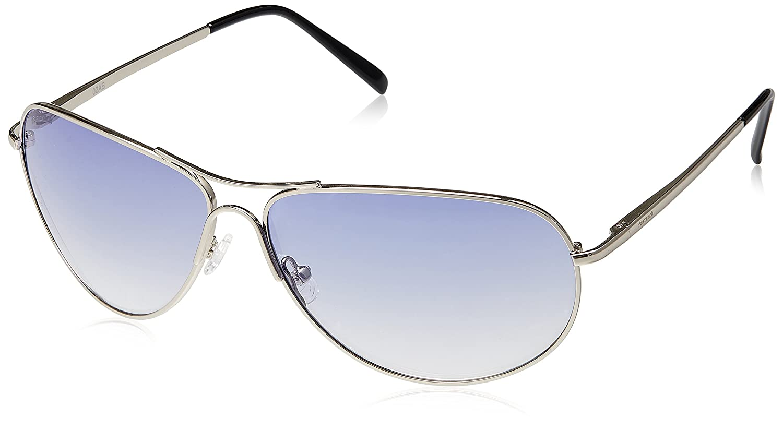 0297f1f3cad7 Fastrack Aviator Men s Sunglasses (Blue)M050BU2  Amazon.in  Clothing    Accessories