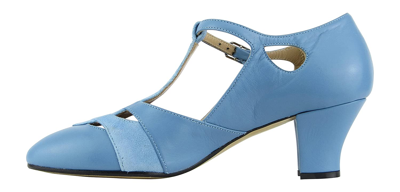 9233 Zapato Baile Mujer Dance Shoe Swing Ballroom Lindy Hop tac/ón 5 cm