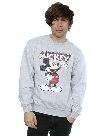 Disney hombre Mickey Mouse Presents Camisa De Entrenamiento: Amazon.es: Ropa y accesorios