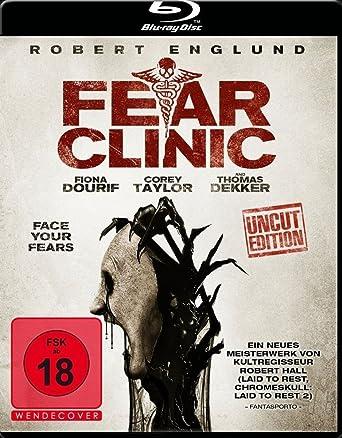 Fear Clinic Blu Ray Amazonde Robert Englund Corey Taylor