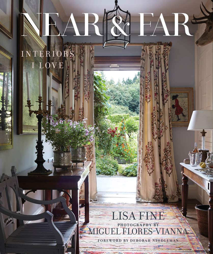 Book cover - Near & Far by Lisa Fine with photography by Miguel Flores-Vianna.