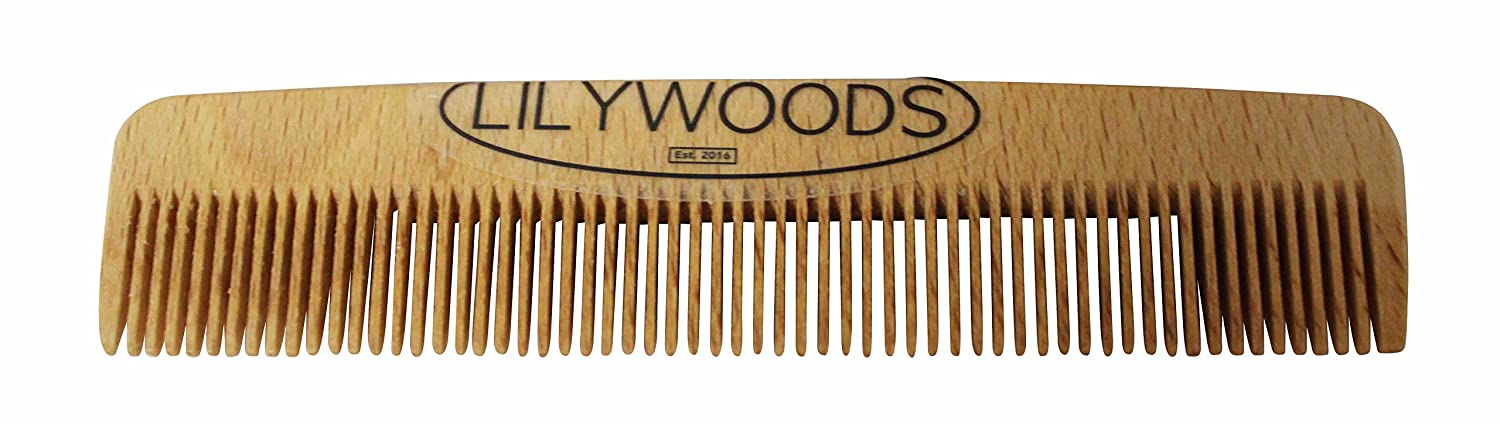 Baby Comb Natural Beechwood 13cm Lilywoods
