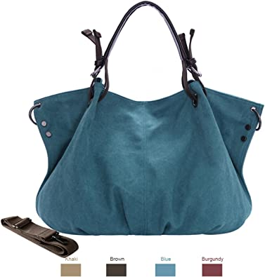 Women Shoulder Bags,Chikencall Vintage Hobo Canvas Handbag Tote Shopper Purse