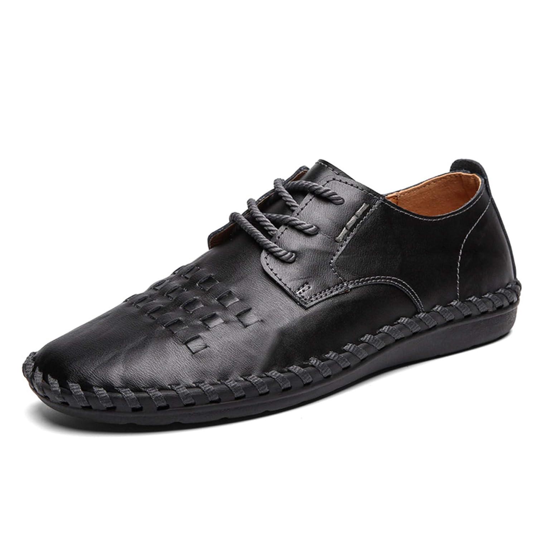 Mocasines para Hombre, Zapatos de Vestir Casuales Slip On Plano Cuero Zapatillas, Zapatos de Conducción Hombre Verano Zapatillas