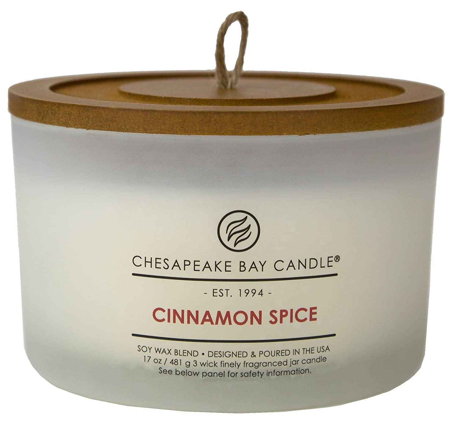 Chesapeake Bay Candle 3-Wick Scented Candle, Blood Orange Coffee Table PT18456