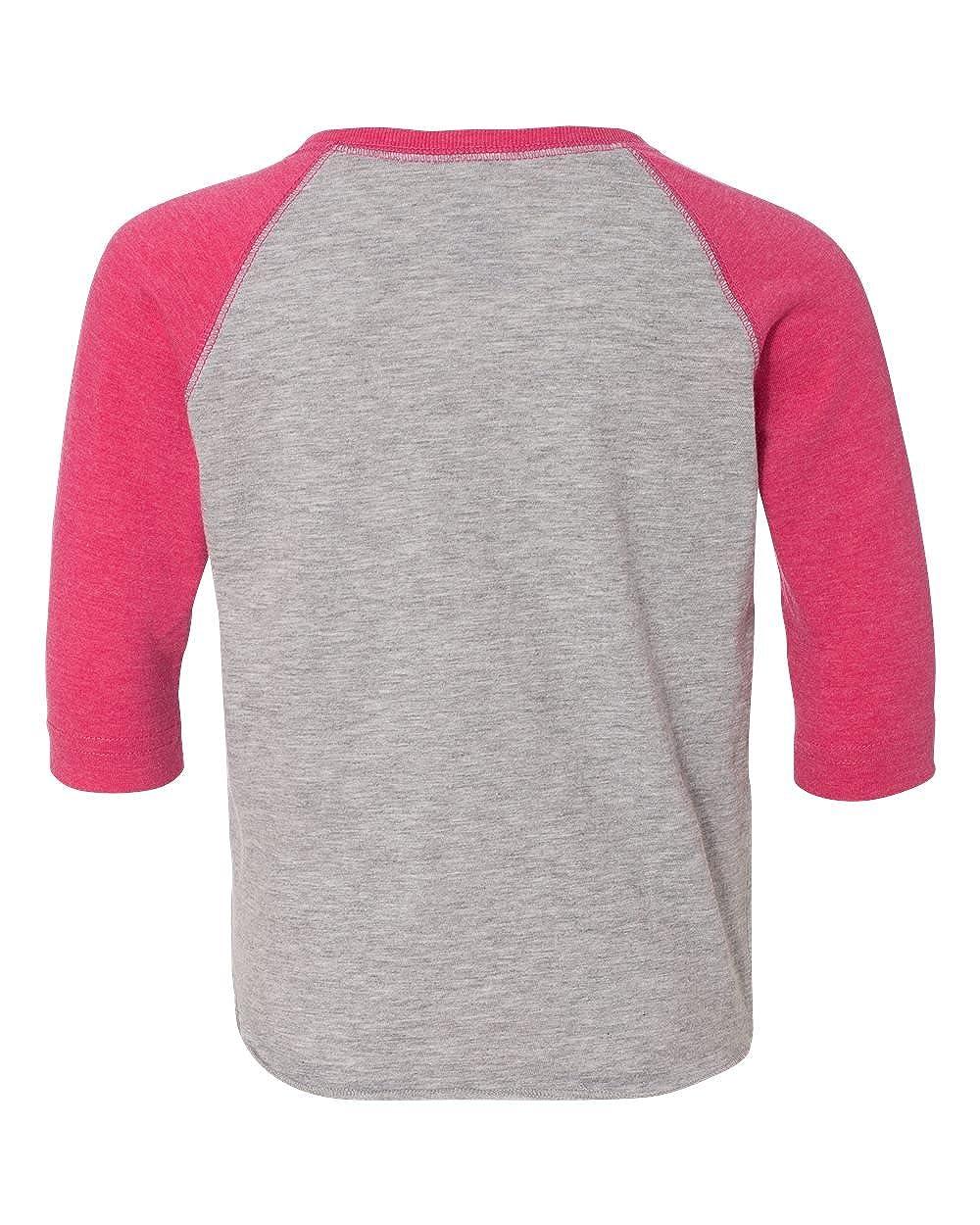 Clementine Toddler Baseball Fine Jersey T-Shirt RS3330 VN HTH//VN HT 2T