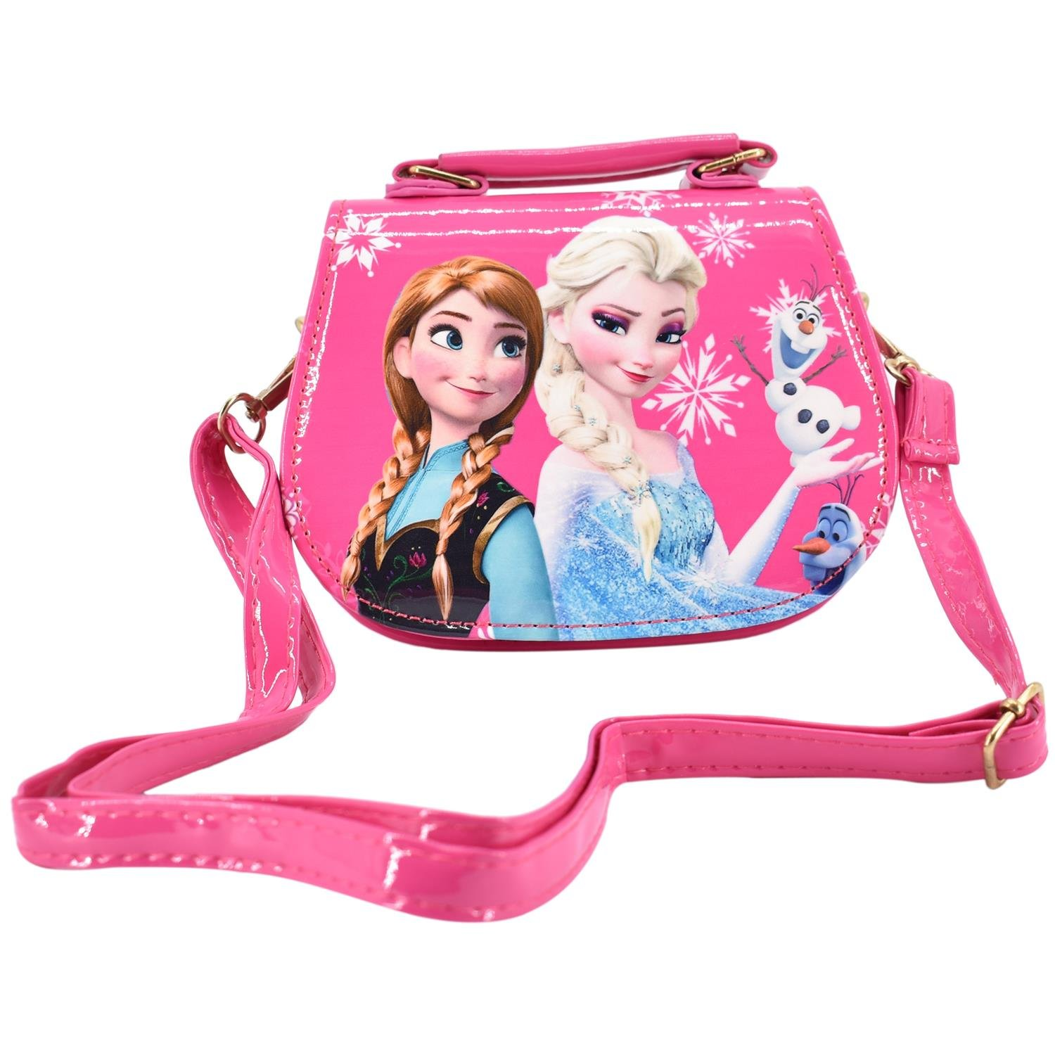 f2c4ae105ad Buy Frozen Handbags Cute Sling Bag Wallet Purse For Kids Girls Gift 2-5Y -  Dark Pink Online at Low Prices in India - Amazon.in