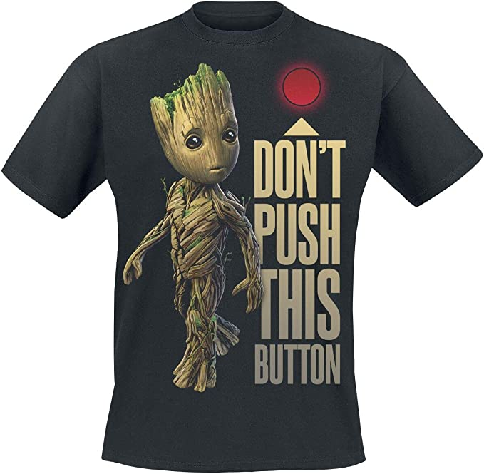 Ladies Guardians of the Galaxy 2 I Am Groot offiziell Frauen T-Shirt Damen