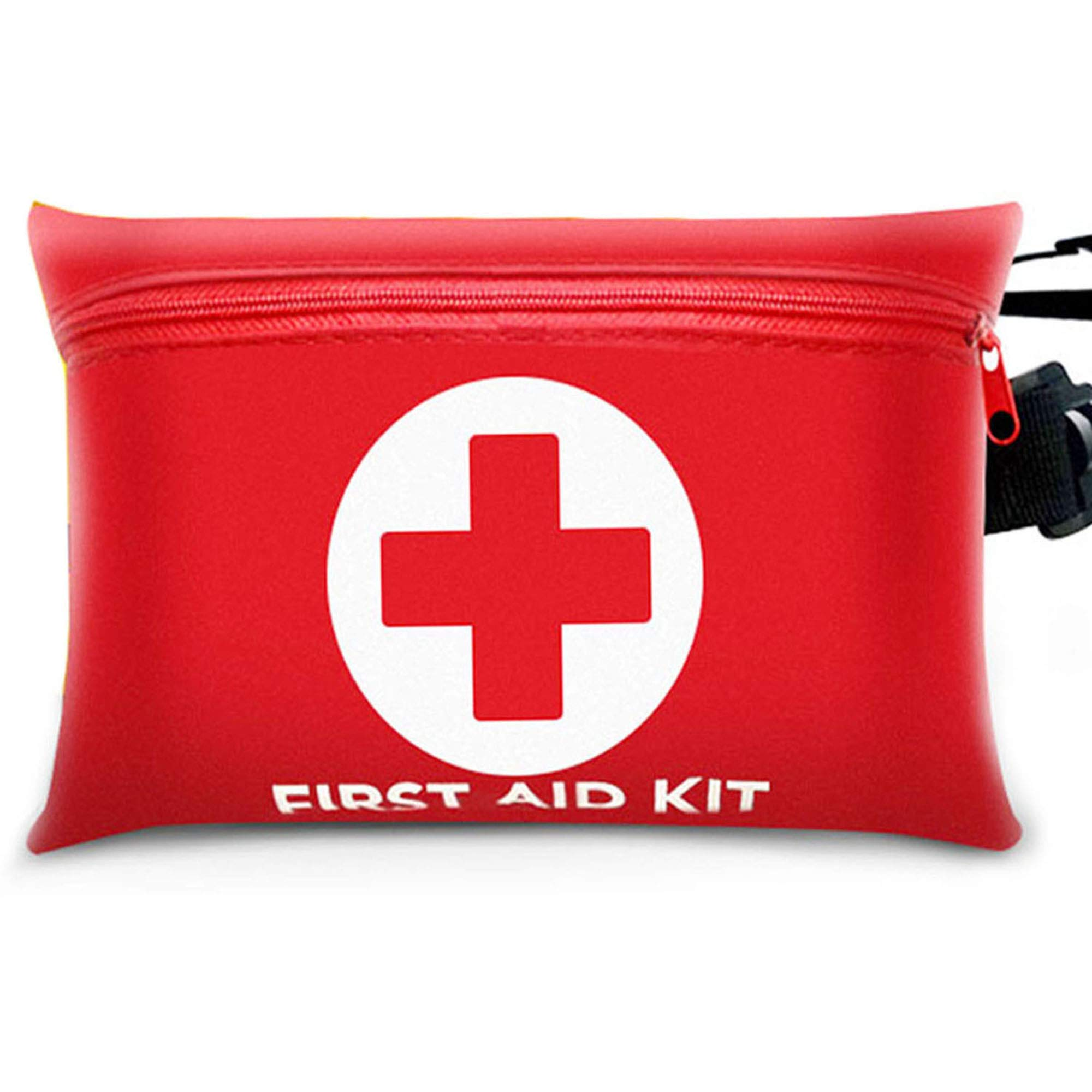 First Aid Kits, 101 Pieces Emergency Bags with Survival Basic Supplies for Outdoors, Camping, Hiking, Home, Office, Travel, Car by DerLin