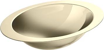 Kohler 2602 Mf Stainless Steel Undermount Oval Bathroom Sink 25 13 X 18 X 9 5 Inches Mirror French Gold Bathroom Sinks Amazon Com