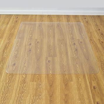 Goplus PVC Chair Mat For Hard Floors Clear Multi Purpose Floor Protector  (47u0026quot;