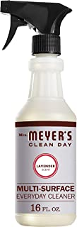 product image for Mrs. Meyer's Clean Day Multi-Surface Everyday Cleaner, Cruelty Free Formula, Lavender Scent, 16 oz