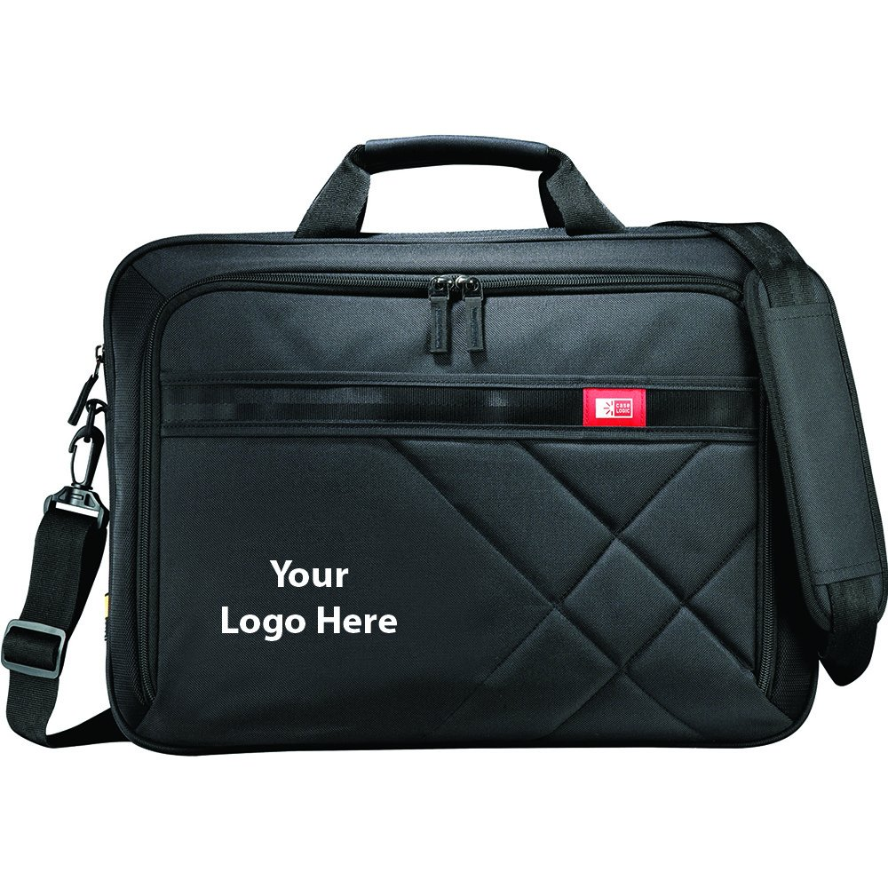 Case Logic Cross - Hatch 17'' Computer Briefcase - 12 Quantity - $51.75 Each - PROMOTIONAL PRODUCT / BULK / BRANDED with YOUR LOGO / CUSTOMIZED