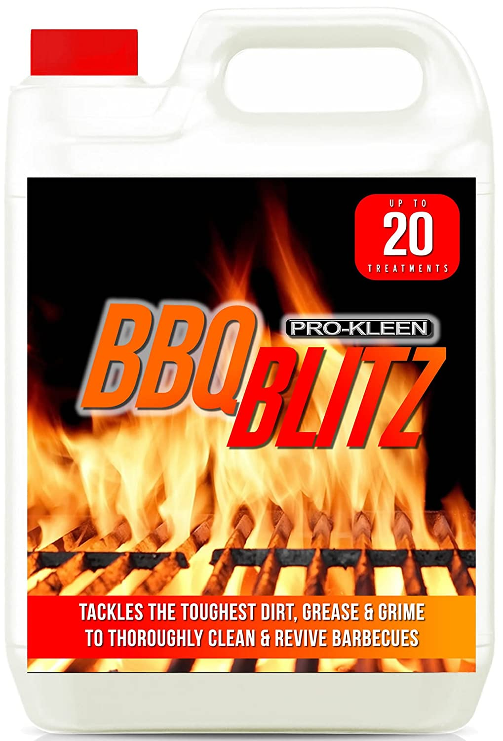 Pro-Kleen 1 X 5 Litres Barbecue Blitz Cleaner (INCLUDES 10 BAGS)