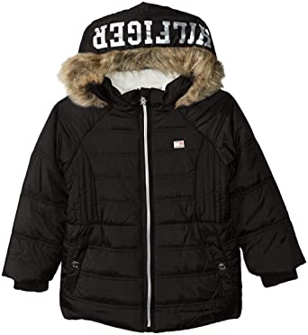 674d9074 Amazon.com: Tommy Hilfiger Girls' Toddler Quilted Puffer Jacket ...