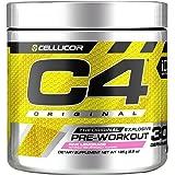 Cellucor C4 Original Pre Workout Powder Energy Drink Supplement For Men & Women with Creatine, Caffeine, Nitric Oxide Booster, Citrulline & Beta Alanine, Pink Lemonade, 30 Servings