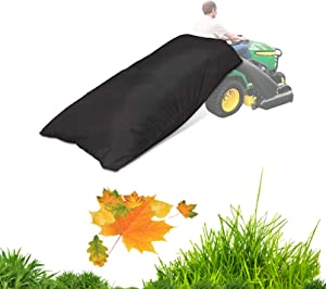 kathson Lawn Tractor Leaf Bag Reuseable 54 Cubic feet Ride-On Mowers Heavy Duty Fast & Easy Opening  Riding Mower in Garden Pool Fits All Tractors