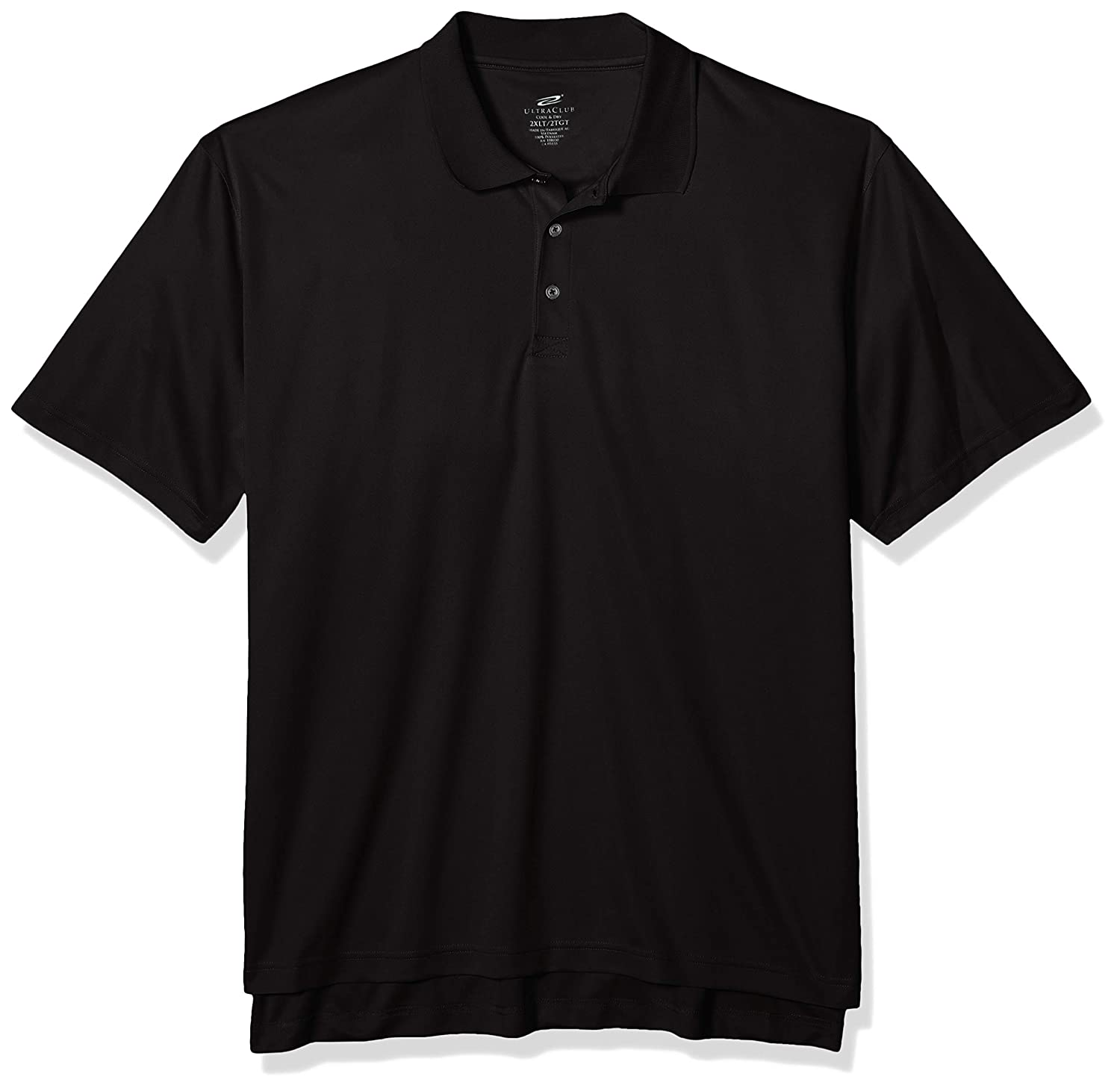 Clementine Mens Tall Size Ultc-8405t-tall Cool /& Dry Sport Polo