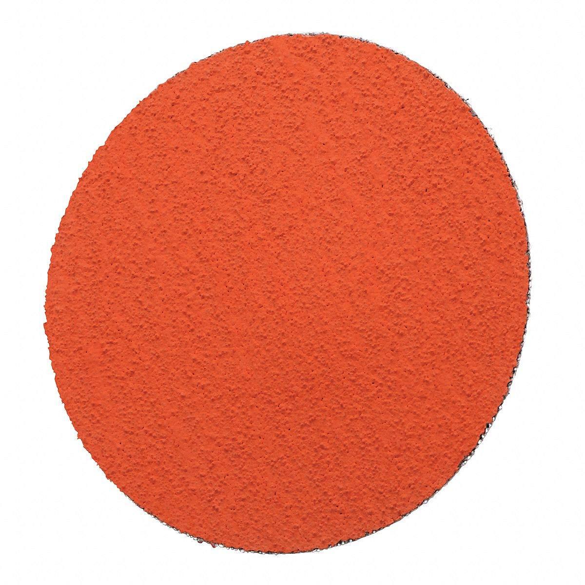 12'' Coated PSA Sanding Disc, 80 Grit, Non-Vacuum, Coarse Grade, Ceramic 10, PK - pkg. of 10 by CAI - 3M (Image #1)