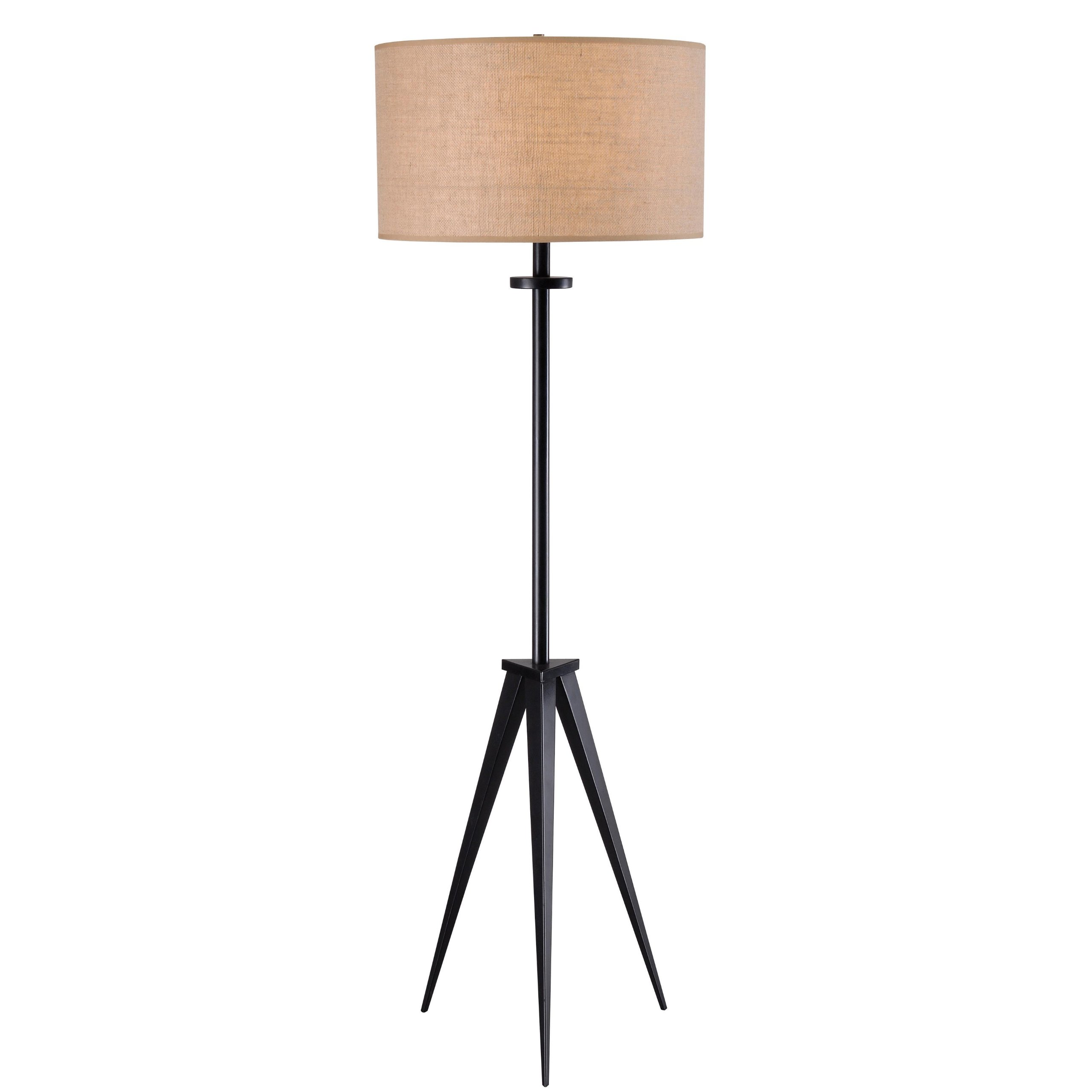 Kenroy Home 32263ORB Foster Floor Lamp, Oil Rubbed Bronze Finish