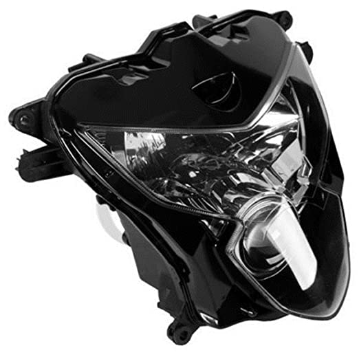 amazon replacement head light front l assembly for 2004 2005 2004 Suzuki Gsxr 600 Black amazon replacement head light front l assembly for 2004 2005 suzuki gsxr 600 750 automotive
