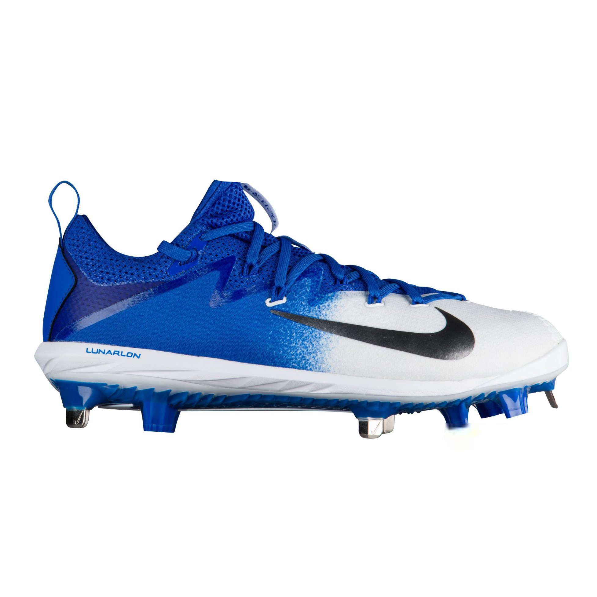 d3d6ba1047a Galleon - Nike Men s Lunar Vapor Ultrafly Elite Metal Baseball Cleats(Blue White   115)