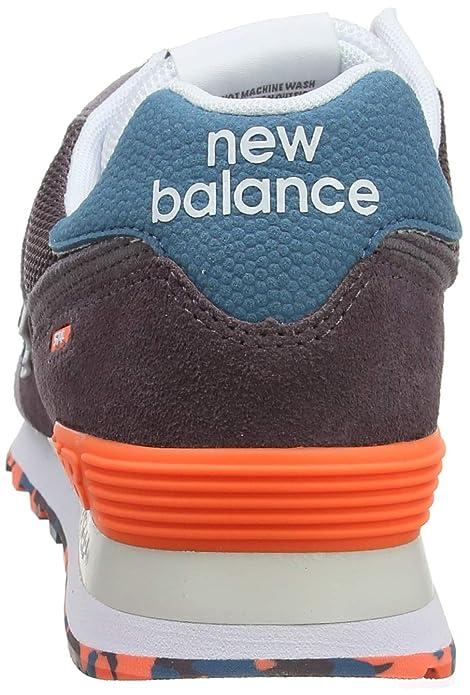 Herren Marbled SneakerSchuhe 574 Balance New Street K1cFlJ