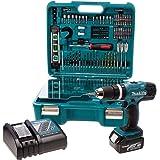 Makita DHP453SFTK 18V LXT Combi Drill with 101 Piece Accessory Set BHP453RFTK, 18 V