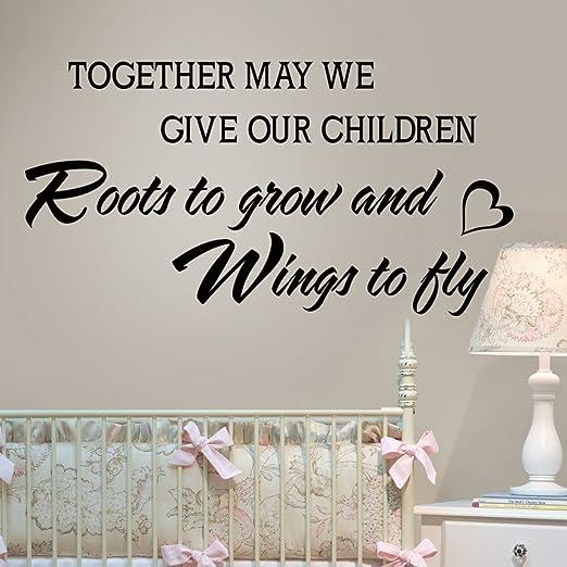 Familia Frase Cita Puede Damos Nuestros Niños Raíces Para