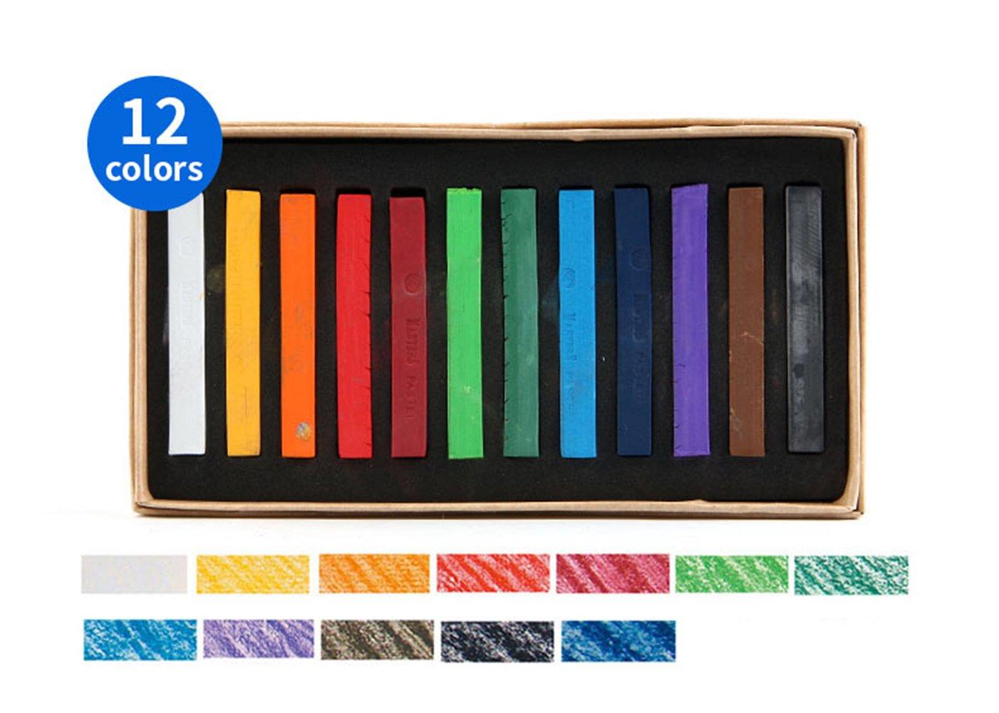 Soft Pastels; Sketch Pastels; Artist Pastels; Disposable Hair Dye Stick diandiandidi
