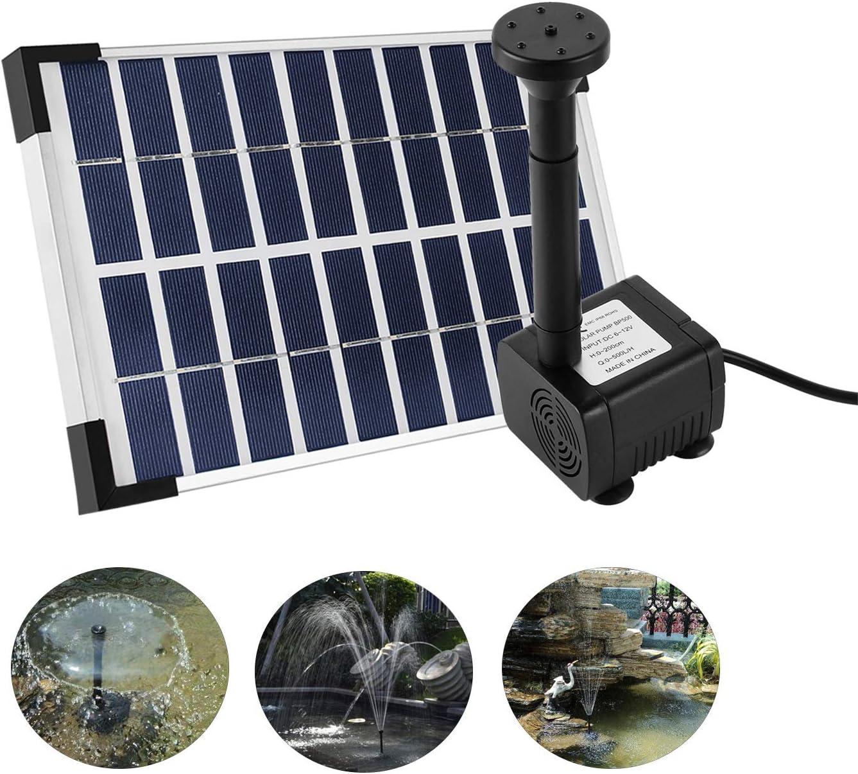 3.5W Solar everfarel springbrunnen font/äne Pompes pour fontaines,Gartenteich Jeu deau Pompe