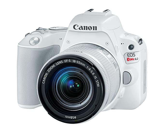 The 8 best canon eos rebel sl2 dslr camera with 18 55mm lens