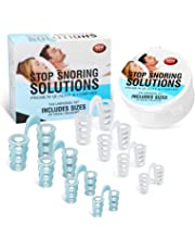 Snoring solution - MEXITOP anti snoring solution snoring aids for Man/Woman snore reducing aids anti snoring chin strap for Ease Breathing 4 Different Sizes & 1 Travel Case for Snoring Sleeping Works on Mouth Breathers Throat Drop Solution Spray Mouth Guard Mouthpiece (8 set)