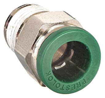 8 mm and 1//4 Parker W68PLPSP-8M-4R-pk10 Composite Push-to-Connect Fitting Nylon Tube to Pipe Glass Reinforced 6.6 Push-to-Connect and BSPT Standpipe Pack of 10 8 mm and 1//4