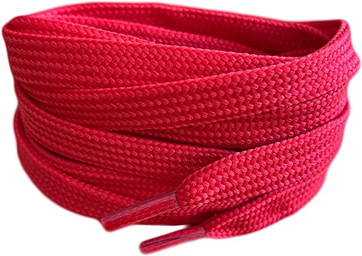 Red Coloured Smart Laces® Flat Trainer