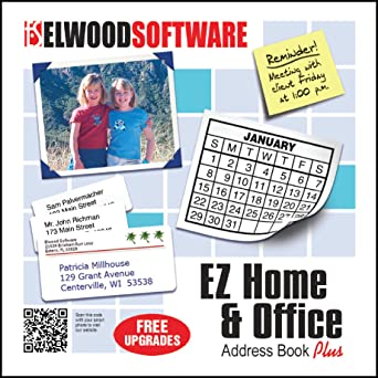 amazon com ez home and office address book download software