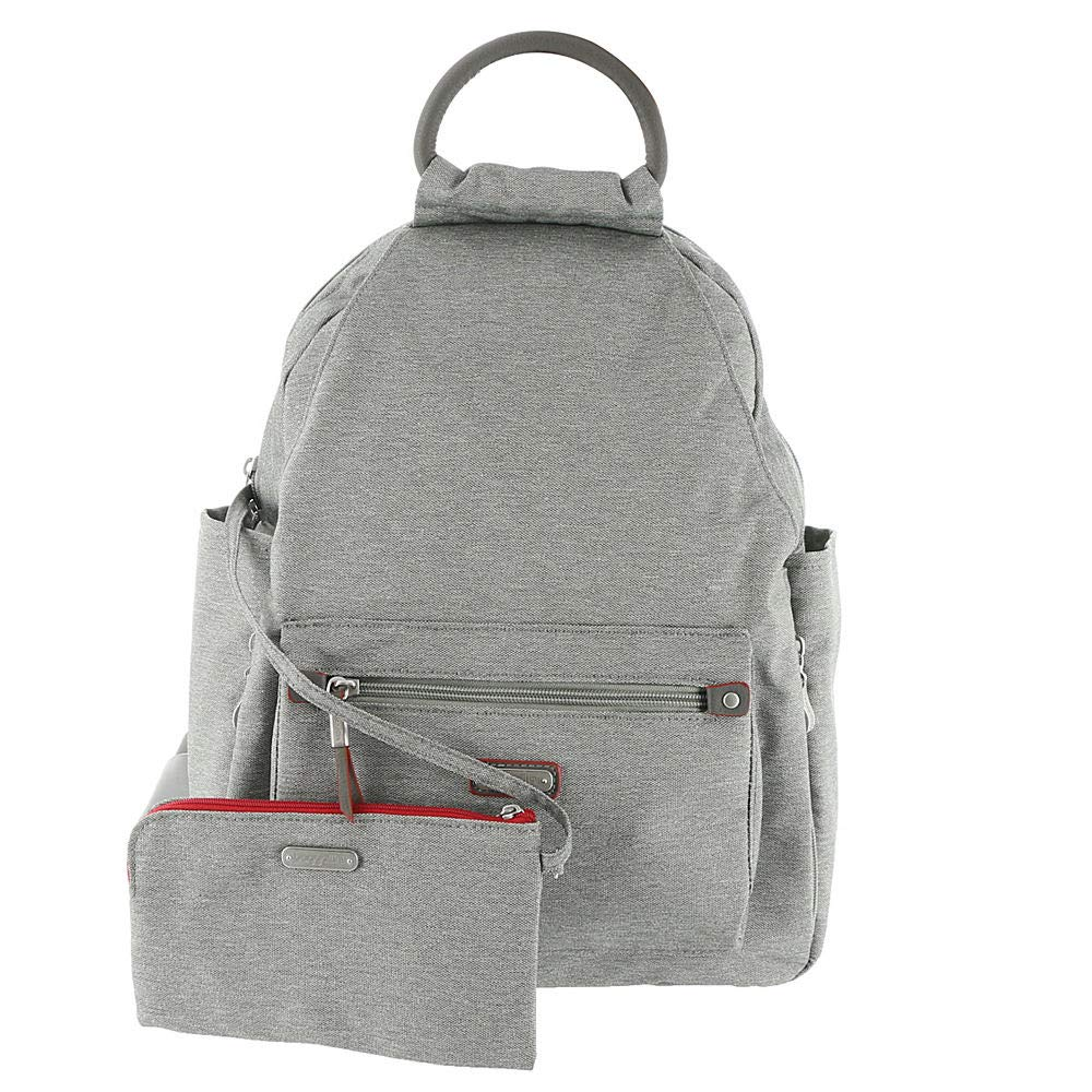 baggallini All Day Backpack with RFID Phone Wristlet (Stone)