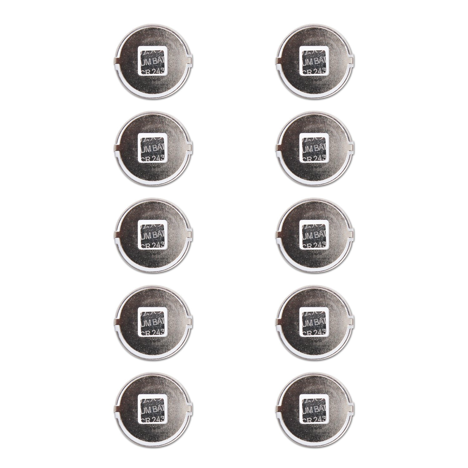 10 Pack Non-OEM Battery Compatible with High Tech Pet Electronic Collar Model Ms-4 and Ms-5