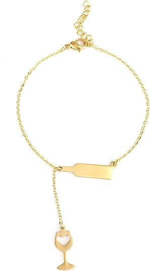 Red Wine Glass Velvet Choker Necklace Pendant Drinking Charm Gift 5mm