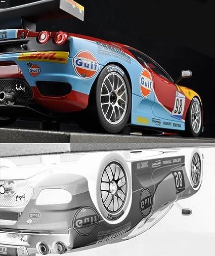 Ferrari 1 Gulf Race Concept GT 12 Sport Car 24 Exotic Leman LaFerrari  Sportscar 64 Classic