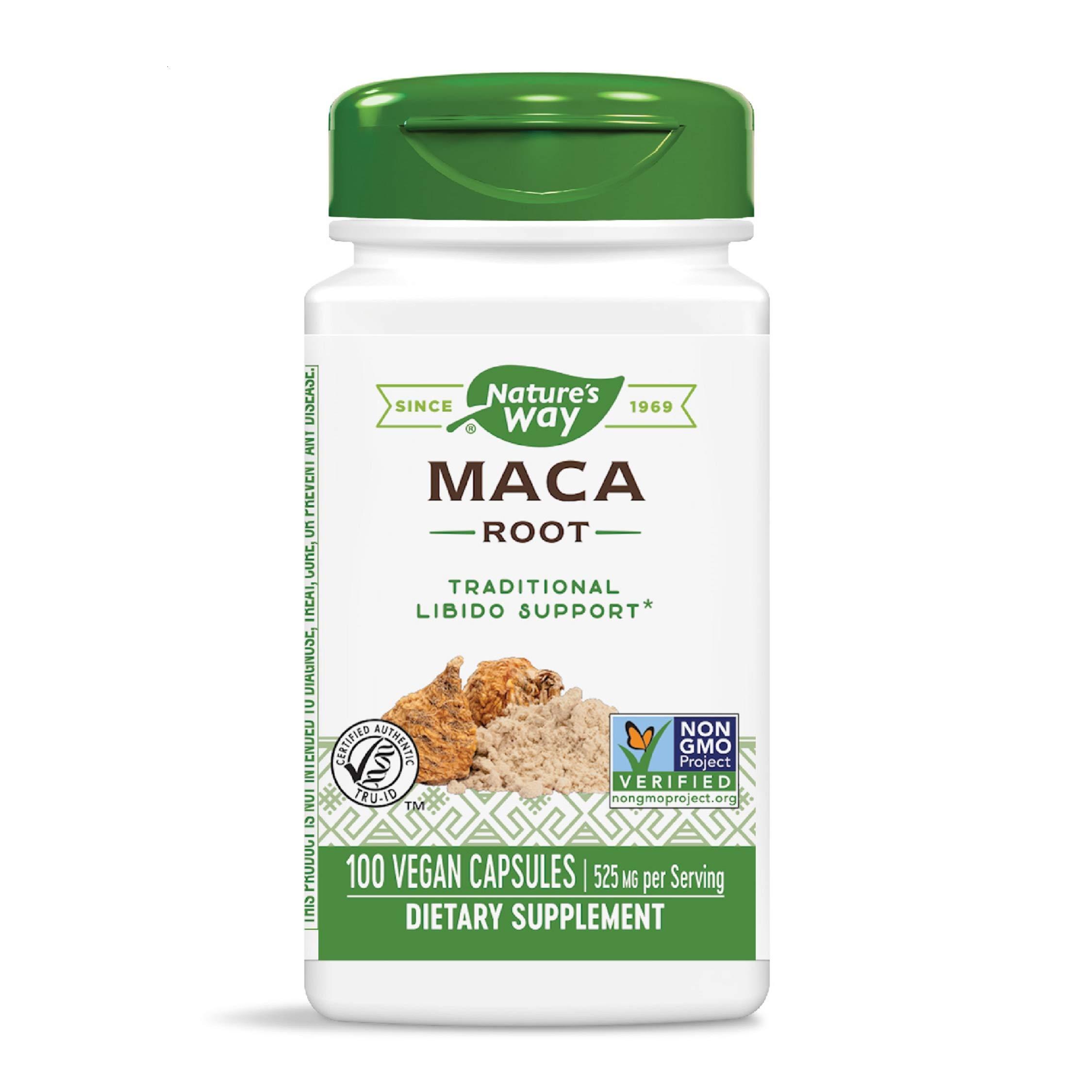 Nature's Way Maca Root 525 mg, 100 VCaps
