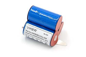 vhbw NiMH batería 3000mAh (3.6V) para robot aspirador robot autónomo de limpieza AEG D-SCX3, E BP 0017, Electrolux AG41W, Emerich SIPA, Lervia: Amazon.es: ...
