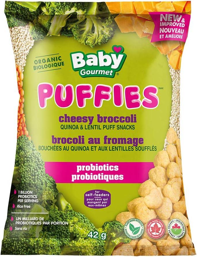 Baby Gourmet Cheesy Broccoli PUFFS