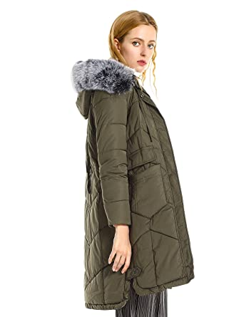 098e2e18f ZAN.STYLE Women s Long Warm Winter Coat